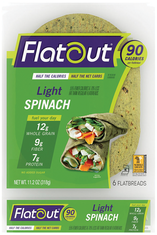 Flatout® Light Spinach Flatbread