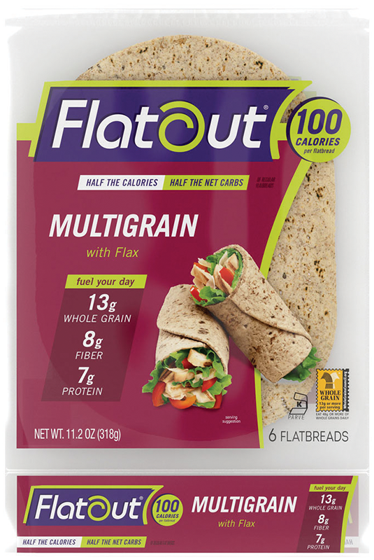 Flatout® Multigrain with Flax Flatbread